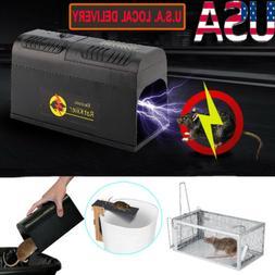 1-10 Electronic Mouse Trap Control Rat Killer Pest Electric