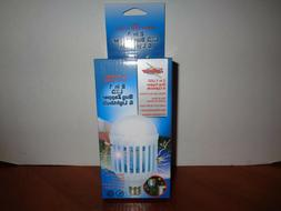 Zap Master 2-in-1 Mosquito Zapper & Energy Efficient Porch L