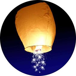10-Pack - Sparkler Chinese Lantern - Make a Wish on a Shooti