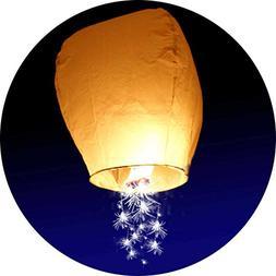 10-Pack - Sparkler Chinese Lantern - Make a Wish on a Shooti