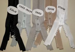 YKK #10 Marine Boat Top Zippers,Outdoor,Canvas Many Sizes &