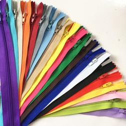 10pcs  Nylon Coil Zippers Bulk for Sewing Crafts