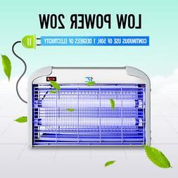 110V 20W Indoor Electric UV Mosquitos Fly Killer Bug Zapper