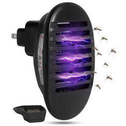 110V~240V 1W LED Socket Shape Electric Shock Mosquito Killer
