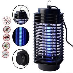 110VElectric Mosquito Fly Bug Insect Zapper Killer With Trap