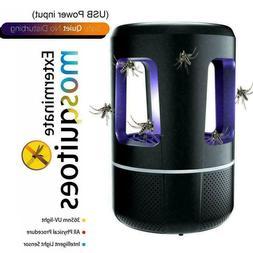 12V USB Mosquito Killer Lamp Insect Fly Bug Zapper UV O9Z1 T