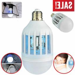 12w Bug Zapper Light Bulb Mosquito Lamp Fly Trap Killer Indo