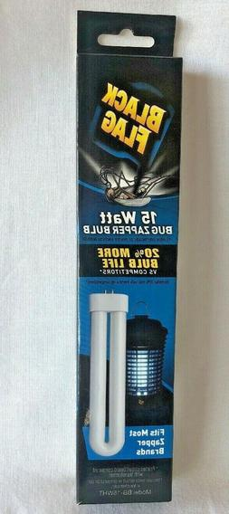Black Flag 15 Watt Bug Zapper Bulb. Model BB-15WHT. New Cond