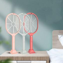 2 in 1 Electric Mosquito Swatter Fly Summer Wireless Pest Co