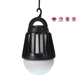 2 In 1 Mosquito Zapper & LED Lamp For Camping Tent Porch Pat