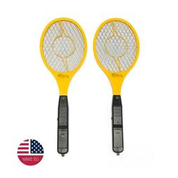 2 Pack Cordless Electric Bug Insect Mosquito Fly Swatter Zap