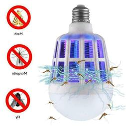 2 Pack Light Zapper LED Light Bulb Bug Mosquito Fly Insect K
