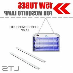 2 x 15W UV Tubes Light Replacement For Mosquito Lure Lamp Fl