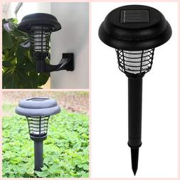 2019 Upgraded Solar-Powered Mosquito Killer Bug Zapper Garde