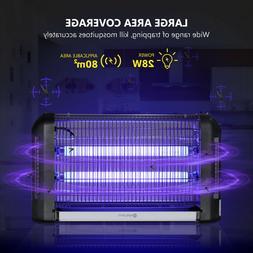 20W Electric Indoor UV Mosquito Killer Bug Zapper Pest Light