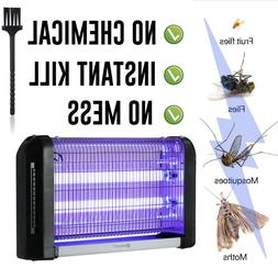 20W Electronic Mosquito Bug Fly Pest Killer Light Control UV