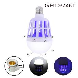 220V E27 UV LED Bulb 15W Mosquito Killer Lamp 2 In 1 Mosquit