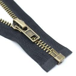 YaHoGa 28 Inch Brass Separating Jacket Zipper Y-Teeth Metal