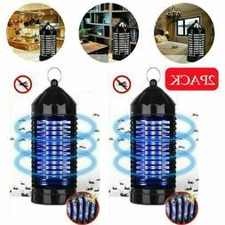 2PACK Electric UV Mosquito Killer Lamp Outdoor Indoor Fly Bu