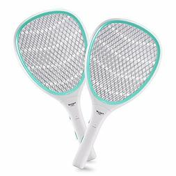 2pack handheld bug zapper racket electric fly