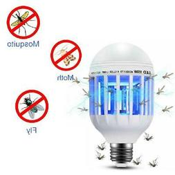 2Pcs 2 in1 Bug Mosquito Fly Insect Killer Bulb Lamp Light Za