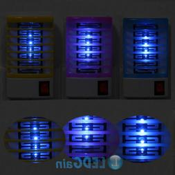 2pcs Indoor LED Electric Mosquito Fly Bug Insect Trap Zapper