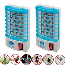 2x Indoor LED Electric Mosquito Fly Bug Insect Trap Zapper K