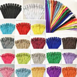 18-20Inch Nylon Coil Zippers Bulk for Sewing Crafts 20-100pc