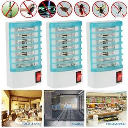 3Pack Indoor LED Electric Mosquito Insect Trap Zapper Shutdo