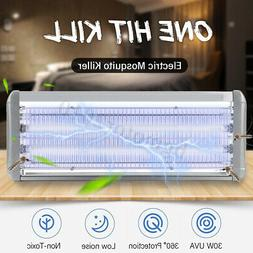 40W Electric Insect Mosquito Fly Killer Bug Zapper UV Home K