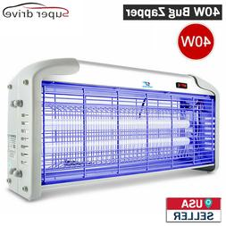 40W UV Light Lamp Electric Bug Zappers Insect Killer Fly Mot