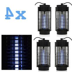 4PCS Indoor Bug Zapper Mosquito Trap Lamp Light Bulb Electro