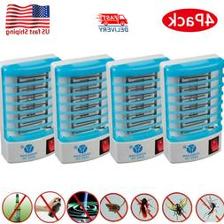 4x Electronic Indoor Mosquito Killer Bug Zapper Insect Trap