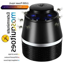 5V USB Mosquito Killer Lamp Insect Fly Bug Zapper Trap Pest