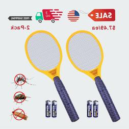 $7.49/ea Handled Electric Bug Zapper Mosquito Fly Swatter In