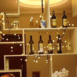 72 Bulbs 8 Modes Plug in Decorative Starry Fairy Lights -Vov