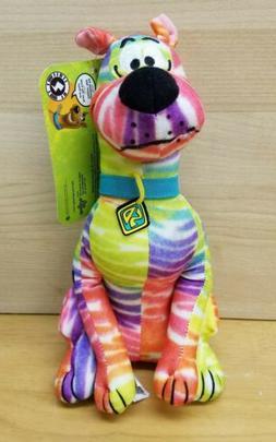 "9"" Tye Dye Scooby-Doo plush by Toy Factory Puppy Doggy Car"