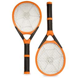 Aspecte - Two-pack Handheld Rechargeable Fly Swatter, Bug Za