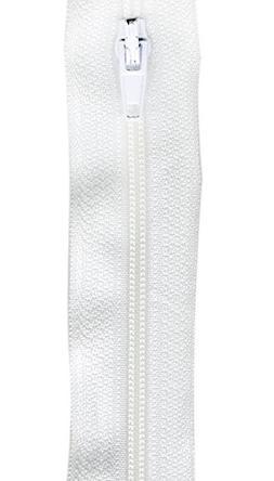 Make-A-Zipper Kit 5-1/2yd-White
