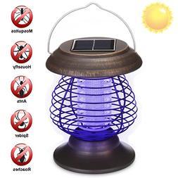 Yezijin Anti Mosquito Bulb, Mosquito Killer Lamp, Solar Powe