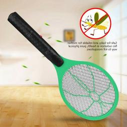 Battery Power Insects Bug Zapper Racket Mosquito Killer Elec