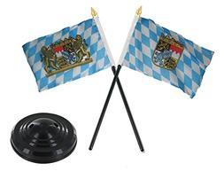 ALBATROS Bavaria Bavarian Lion Crest with Bavarian Crest Fla