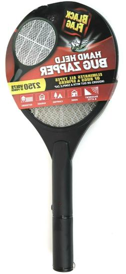 Mosquito Zapper Racket Electric Hand Held Bug Fly Swatter Re