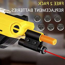 Bug and A Fly Salt 2.0 Gun Red Laser Sight Beam Accessory -