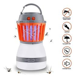 Bug Zapper & Camping Lantern IP67 Rainproof 2-in-1 Cordless