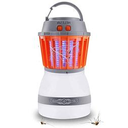 Helesin Bug Zapper Camping lamp, 2 in 1 camping lantern mosq