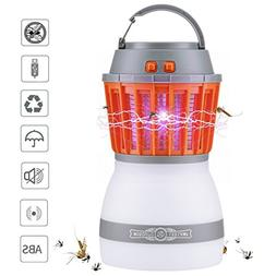 Bug Zapper & Camping Lantern 2 In 1 Night LED Light Bulb La