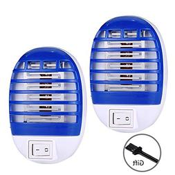 HUIBAOTONG Bug Zapper Electronic Insect Killer Electric Mos