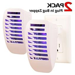 LIGHTACCENTS Bug Insect Zapper - Plug-in Electronic Mosquito