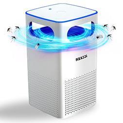 ICCKER Bug Zapper Insect Mosquito Killer UV Trap Lamp & Fan